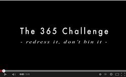 The 365 Challenge youtube snapshot v2 250 pixels